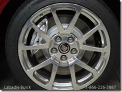 2012 CTS-V Wagon Wheel