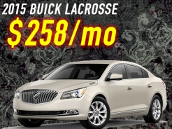 leasing deals buick lacrosse