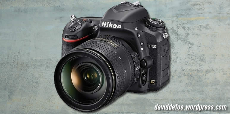 black nikon d750 with lens