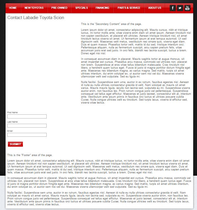 vinsolutions websites screen cap